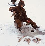 Зимняя рыбалка на селигере. Дом рыбака З
