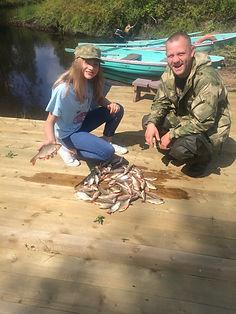 Рыбалка с детьми на озере Селигер