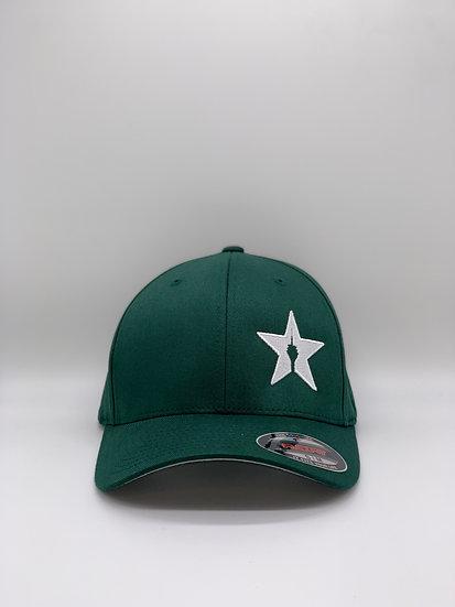 """Original Flexfit Cap """"STAR"""" Forest"""
