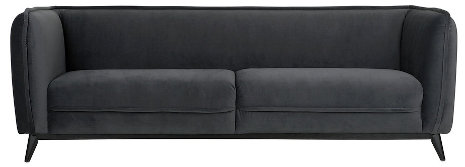MUST LIVING, Sofa Escape, Samtstoff, 76x222x91cm