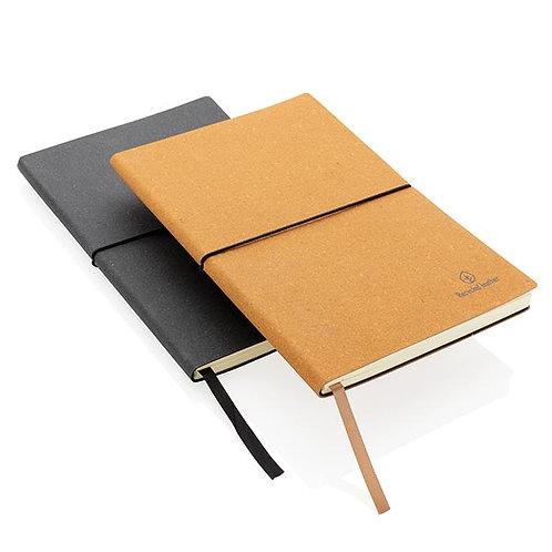 A5 Notizbuch aus recyceltem Leder