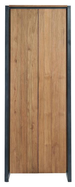 d-Bodhi, Schrank Fendy, recyceltes Teakholz, braun, 2-türig, 160x50x40cm