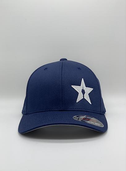 "Original Flexfit Cap ""STAR"" Navy"