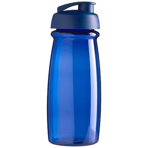 H2O Pulse® 600 ml Sportflasche mit Klappdeckel