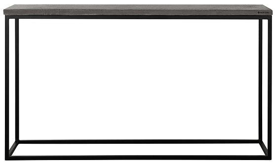 MUST LIVING, Bazalt Konsolentisch Mont Blanc, schwarz, 78x140x35cm