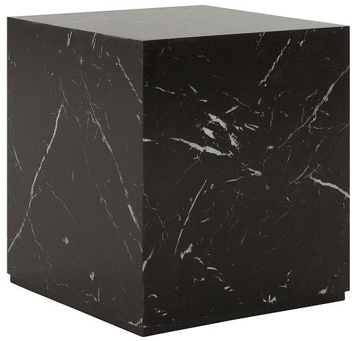 MUST LIVING, Marble,Tisch Cube, Marmor, schwarz