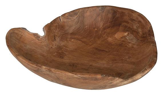 MUST LIVING, Mood for Wood, Tablett Delight, Teakholz, braun, 9x38cm