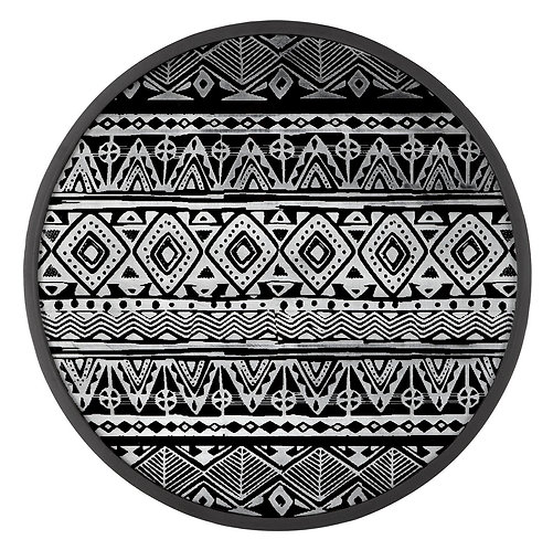 MUST LIVING, Wanddeko Tribal, rund