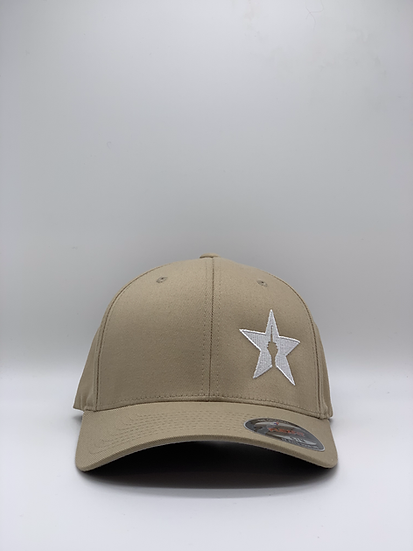 "Original Flexfit Cap ""STAR"" Sand"