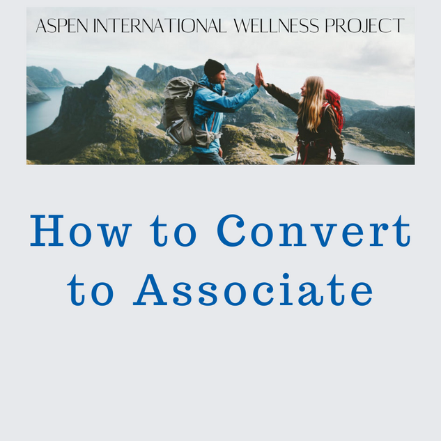 How to Covert to Associate