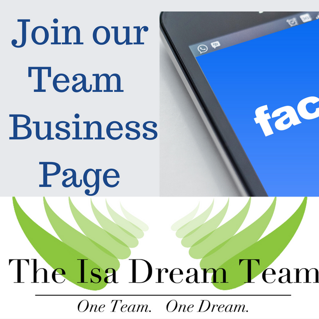 The Isa Dream Team FB Page