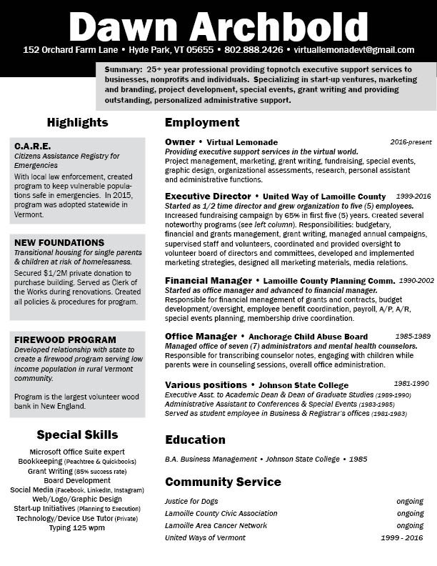 Resume - Dawn Archbold.jpg