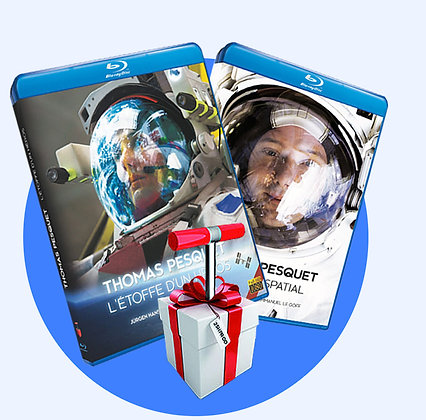 Offre 2 Blu-ray Thomas Pesquet