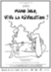 Affiche - Mano Solo, Vive la Révolution!