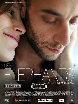 Affiche - Les éléphants