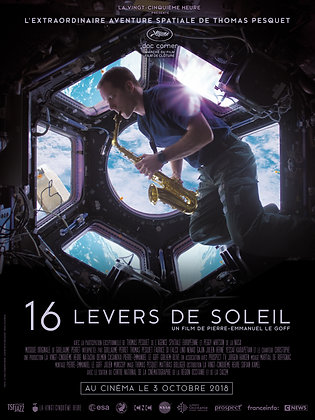 16 LEVERS DE SOLEIL - AFFICHE
