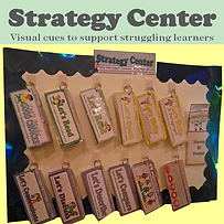 Visual cues to support struggling learners