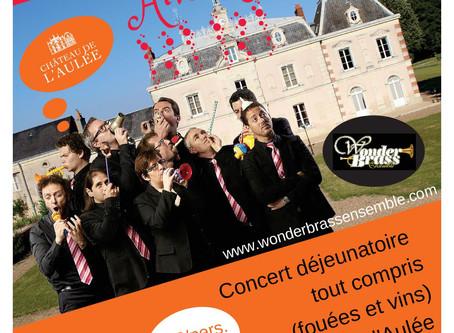 7-8 avril : tournée en Touraine