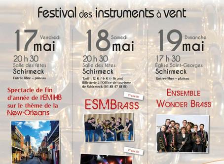19 mai à 17h30 : concert à Schirmeck