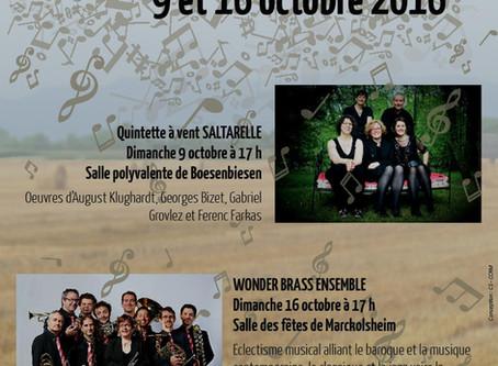 16 octobre 2016 à 17h - Marckolsheim