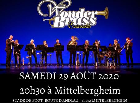 29 août : concert à Mittelbergheim