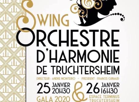 25 et 26 janvier : concerts à Truchtersheim