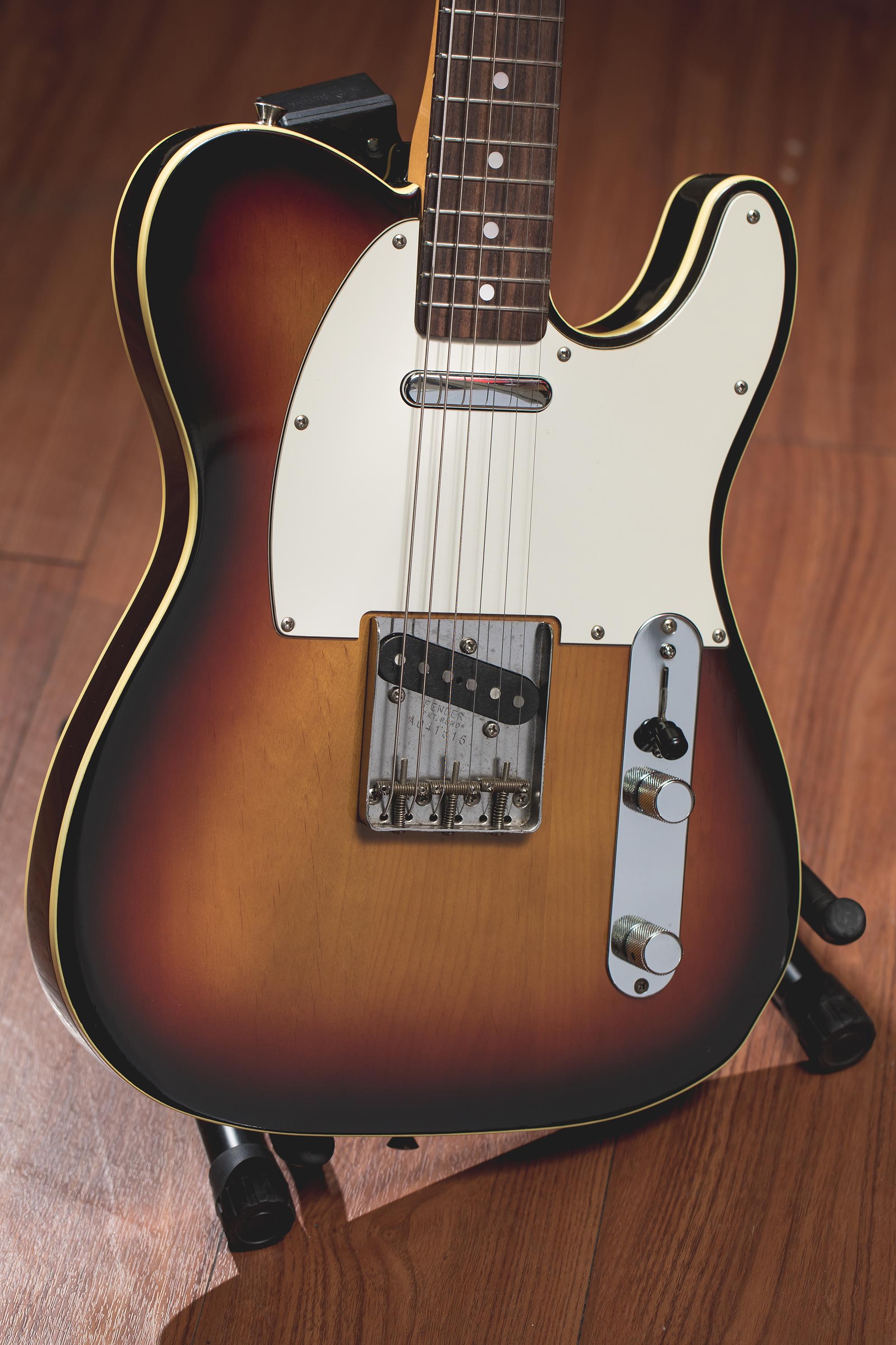 Fender USA Tele Standard Sunburst