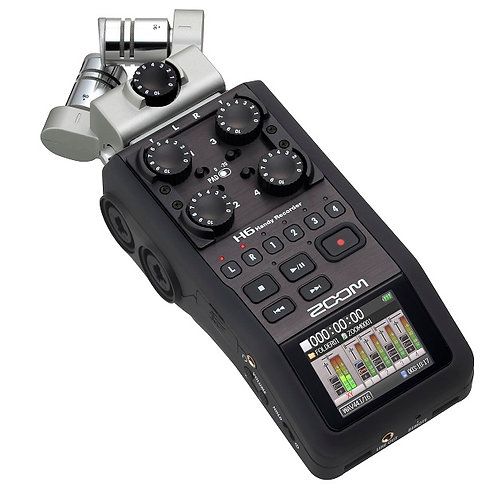 Zoom H6 可換麥克風手持數位錄音機 (全新行貨)