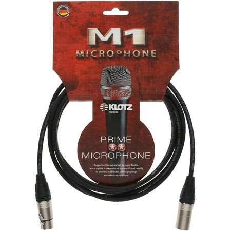 M1 Mic Cable XLR-F / XLR-M, 2m Neutrik