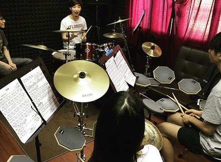 學爵士鼓- 開心的一課