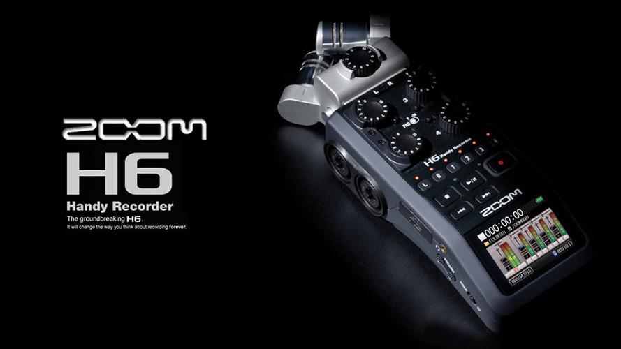 Zoom H6 可換麥克風手持數位錄音機