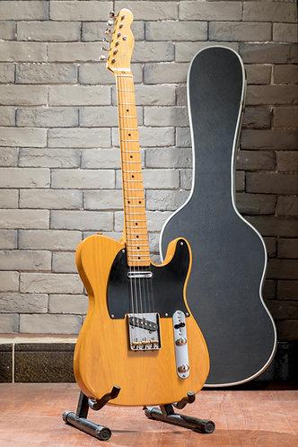 Fender Japan Tele  TL52-70  Wood Black