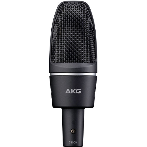 AKG C3000 Microphone 專業電容錄音麥克風