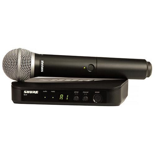 Shure BLX24/PG58 手持式無線系統 (wireless handheld microphone)
