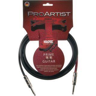 Pro Artist Guitar Cable, 2X Jack Plug 2P, 3m, Straight - Straight