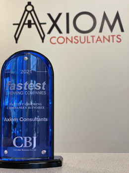 Axiom Consultants Named Corridor's Fastest Growing Company for 2021.