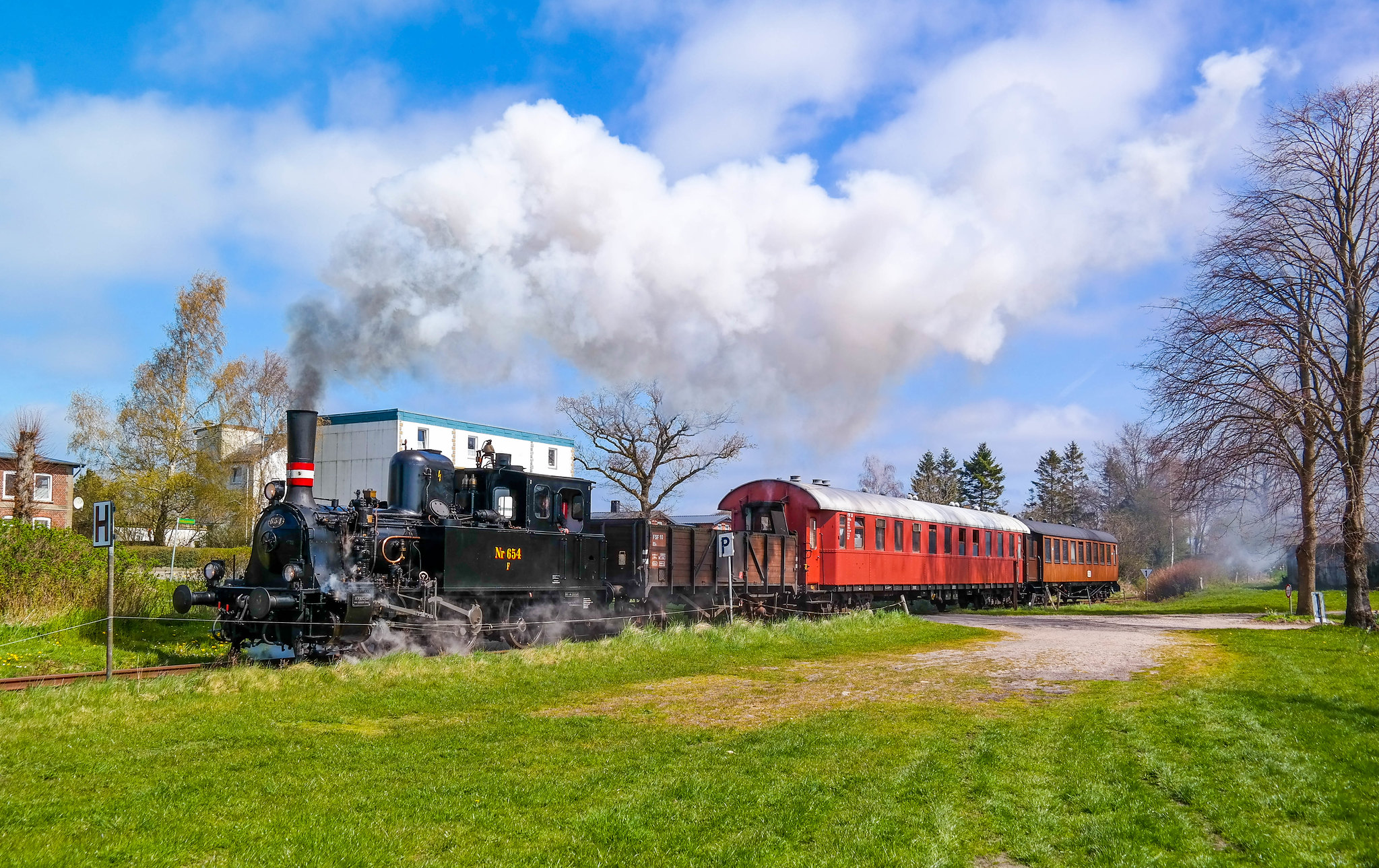 Angelner Dampfbahn, Northern Germany, 20