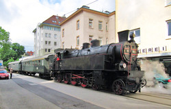Street Running in Linz Urfahr, 2013