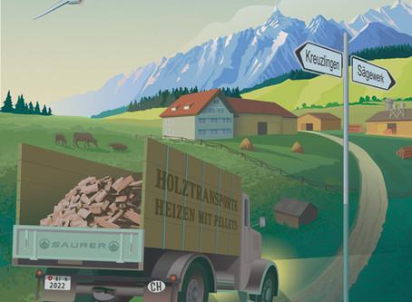 Neue Werbekampagne in der Ostschweiz