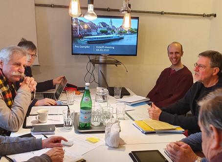 Kickoff-Meeting Arbeitsgruppe Technik