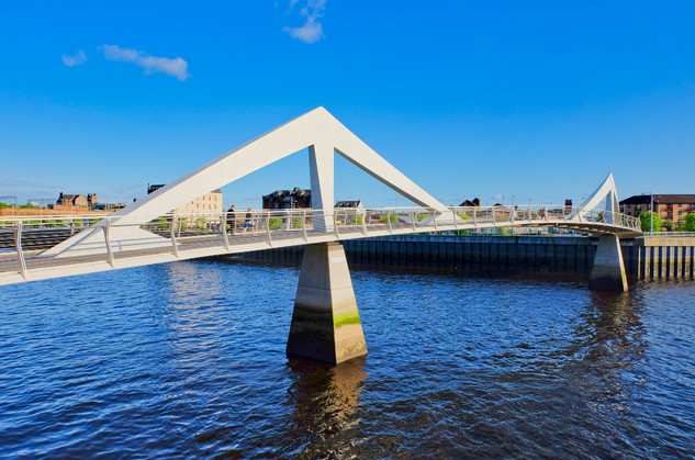 Glasgow River Clyde, Scotland