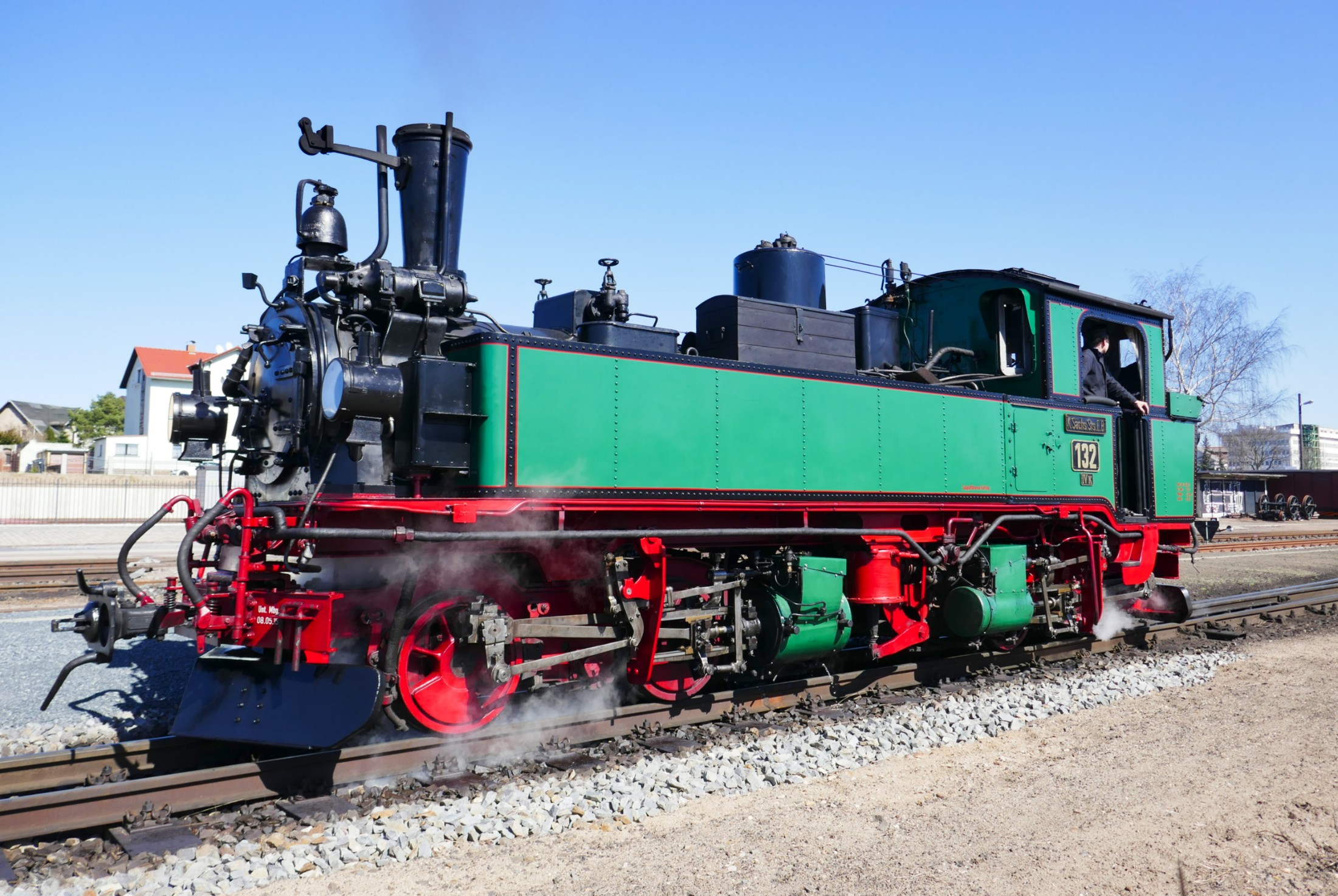 Saxon IV K tank engine