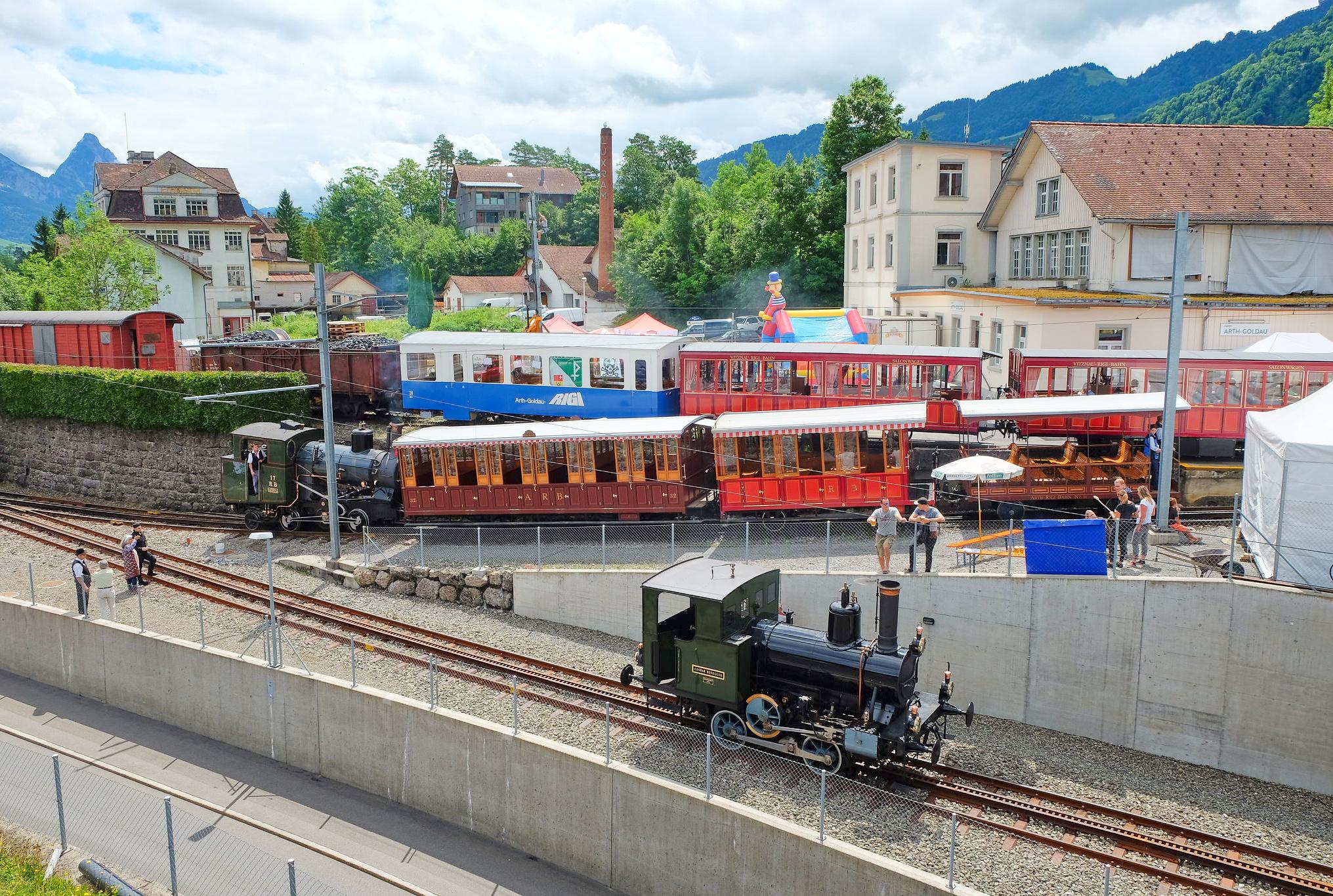 Rigi Bahn, Arth-Goldau, 2017