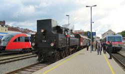 Steam in Linz Urfahr, 2013