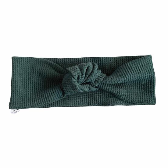 Waffle Knit Green