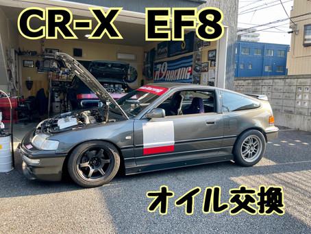 CR-X FK8 オイル交換♪