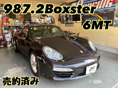 987.2Boxster 珍しい6MT 売約済みです!
