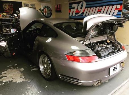 996turbo 6MT エンジンかかりました!