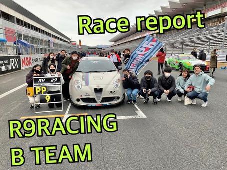 FSW7時間耐久レース Bチーム レースレポ