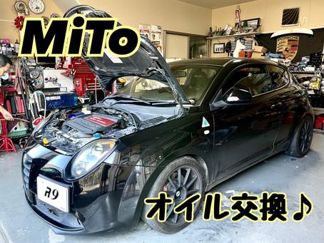 MiTo QV 抜群の走りやすさになったそうです♪オイル交換
